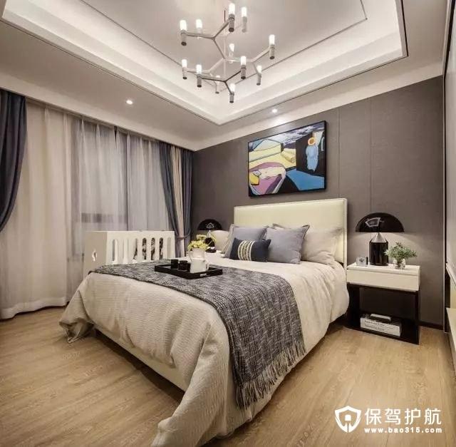 现代大方简约风格卧室装修效果图
