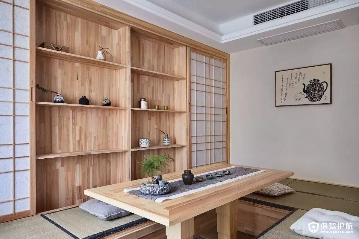 禅意日式风格榻榻米休闲室装修效果图