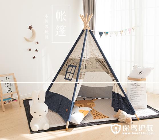 儿童室内帐篷在家共享亲子野营