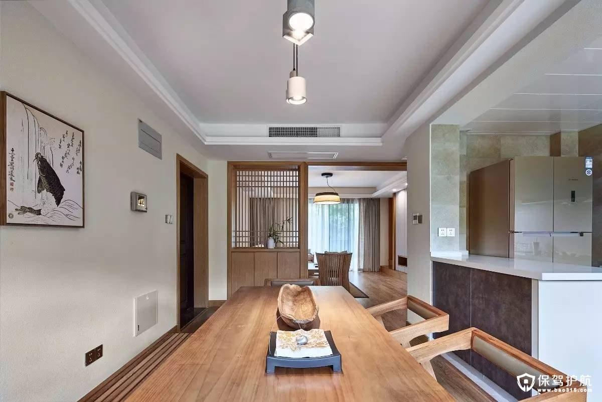 安静惬意135㎡日式休闲装修设计