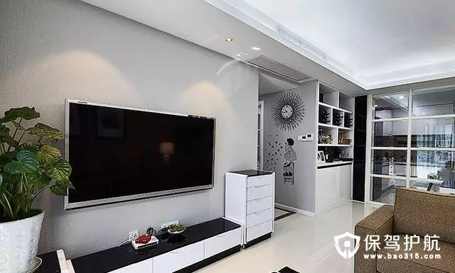 经典时尚现代简约风格客厅装修效果图