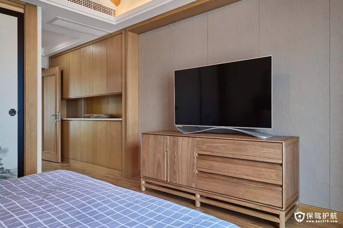 简单大方舒适日式风格卧室装修效果图