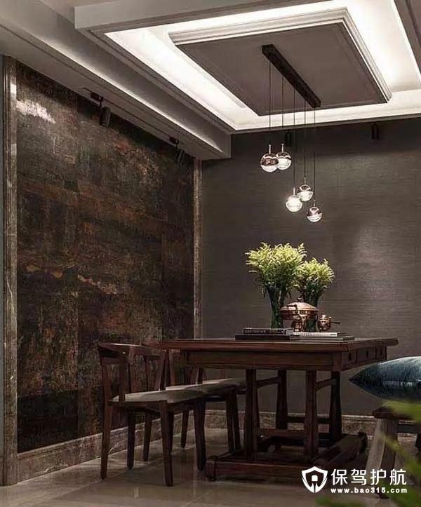 质感温软北欧风格餐厅装修效果图