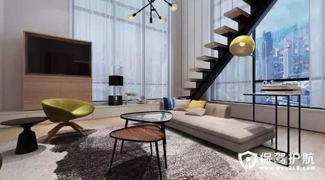 时尚个性北欧风格客厅电视背景墙装修效果图
