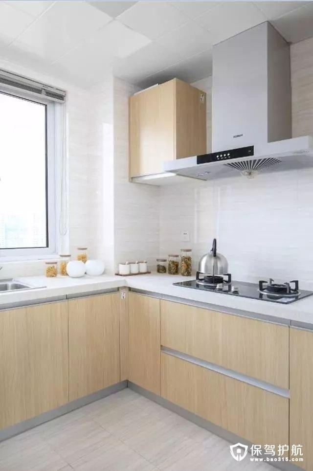 简约大方现代北欧风格厨房装修效果图