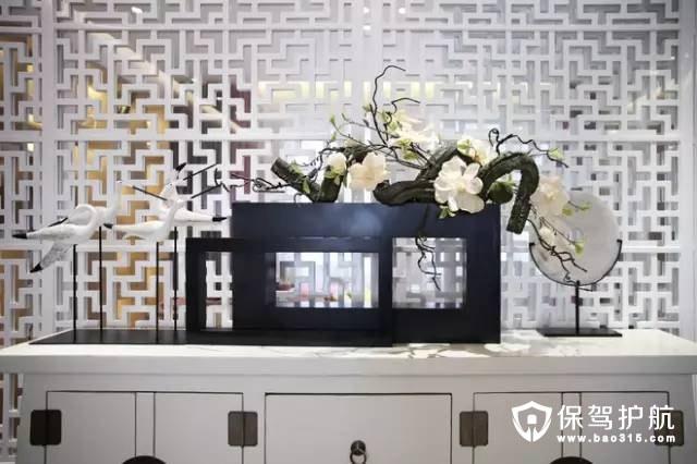 禅意精致现代中式风格三室装修效果图