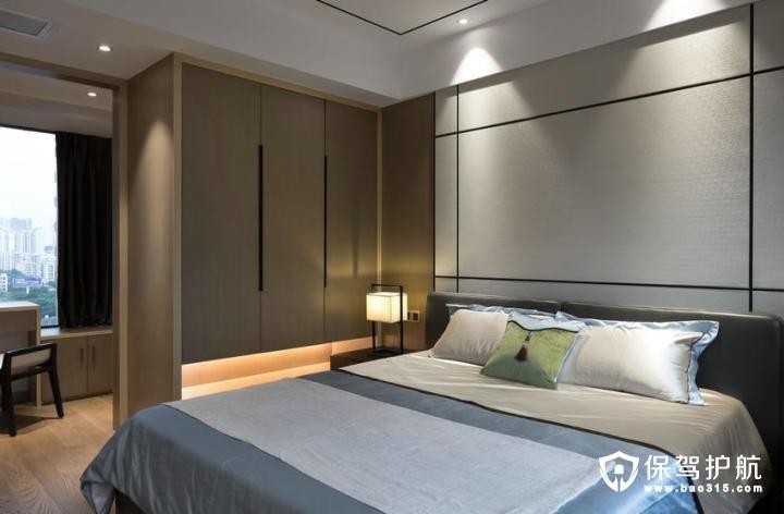 儒雅端庄现代中式风格卧室装修效果图