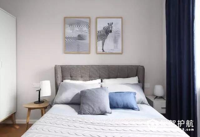 简洁气质北欧风格卧室装修效果图
