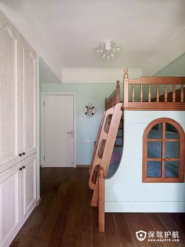 清新有趣简欧风格儿童房装修效果图