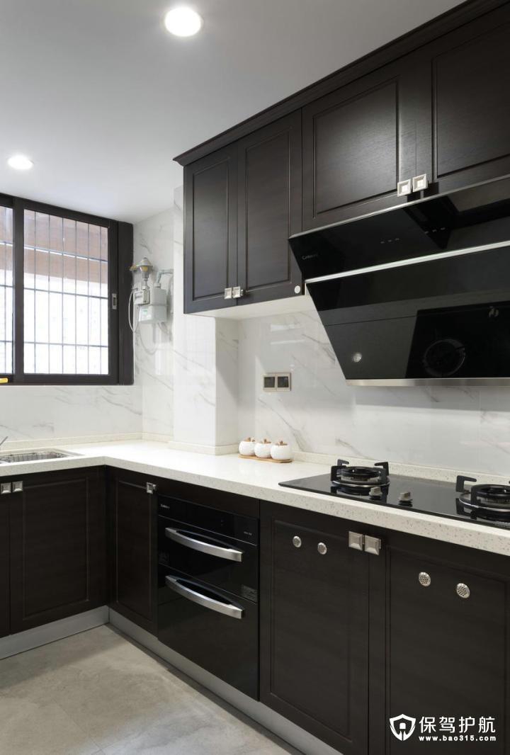质感高档现代中式风格厨房装修效果图