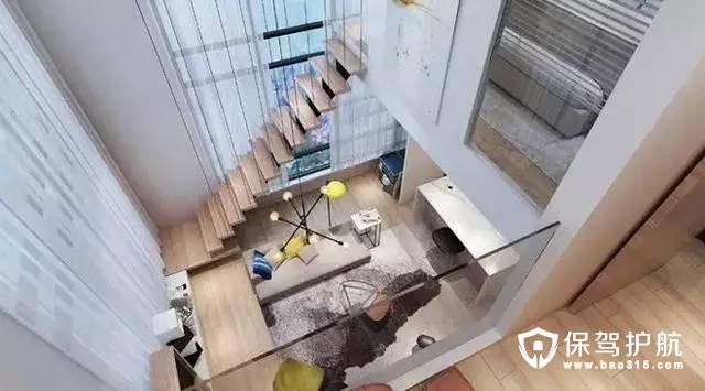 简约时尚北欧风格客厅装修效果图
