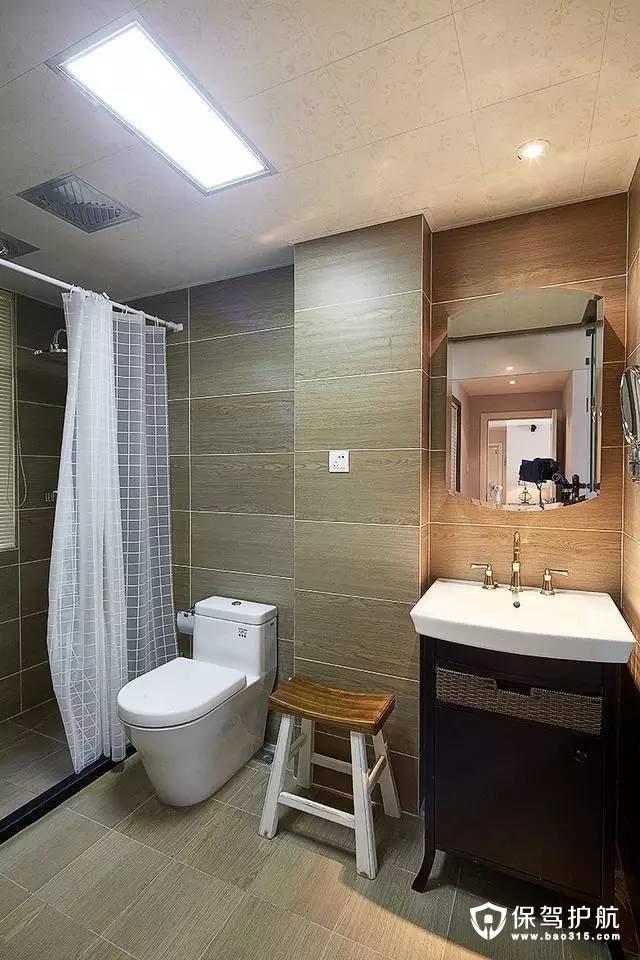 简欧风格独立洗浴间装修效果图
