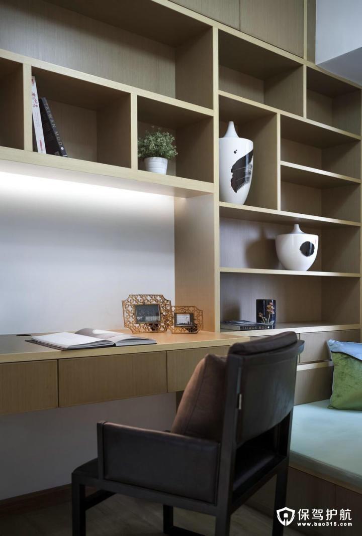 文雅端庄现代中式风格书房装修效果图