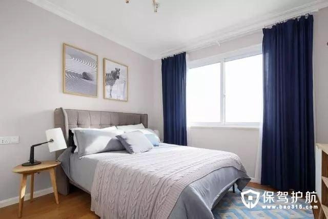 高雅简约北欧风格卧室装修效果图