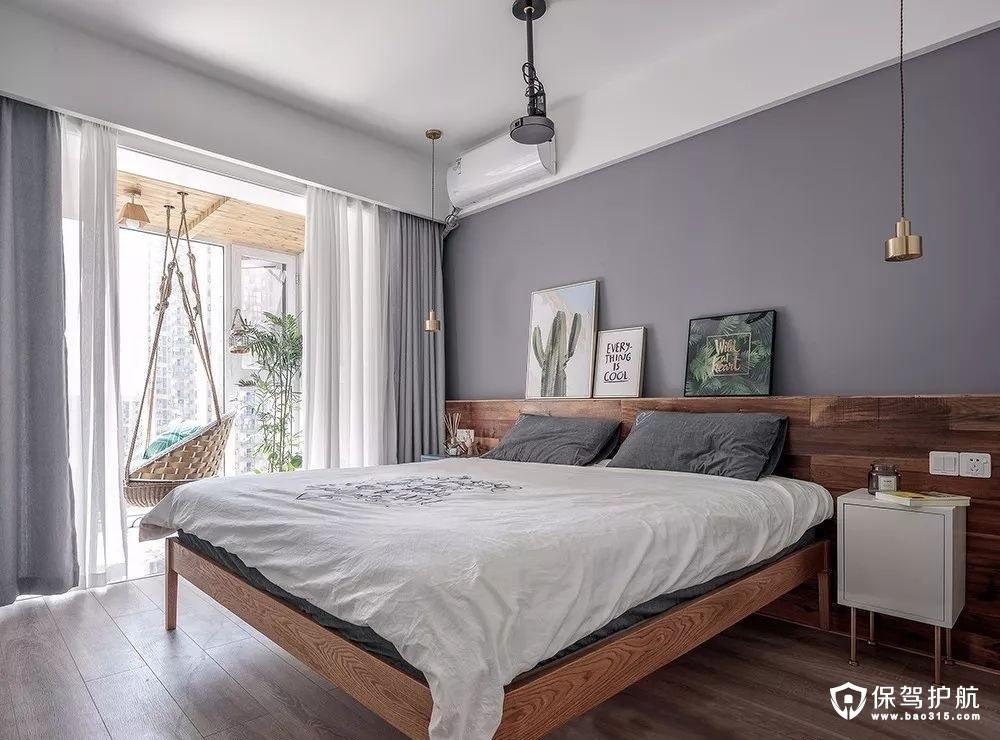 优雅北欧风格卧室装修效果图