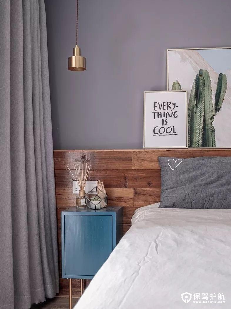 美好灵动北欧风格卧室装修效果图