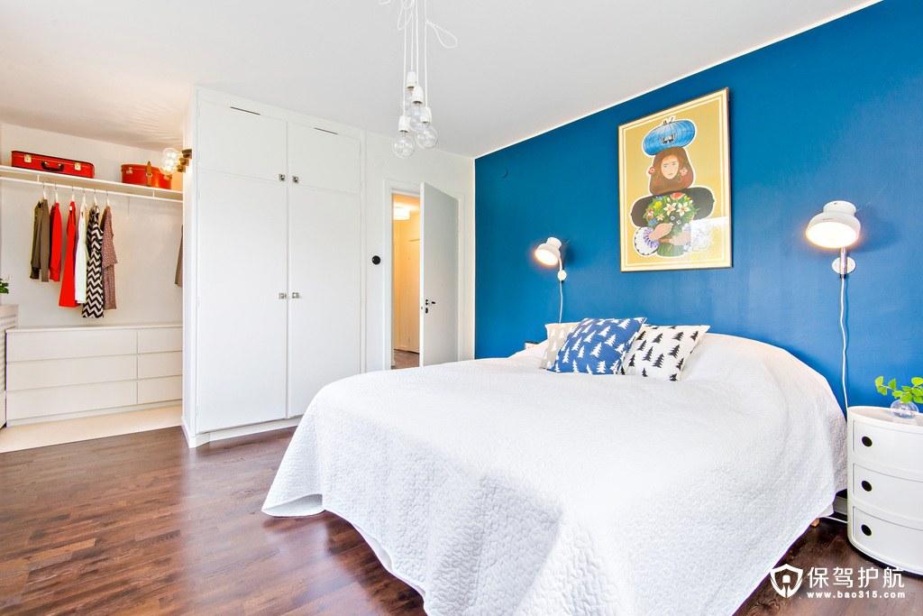 北欧风格卧室背景墙