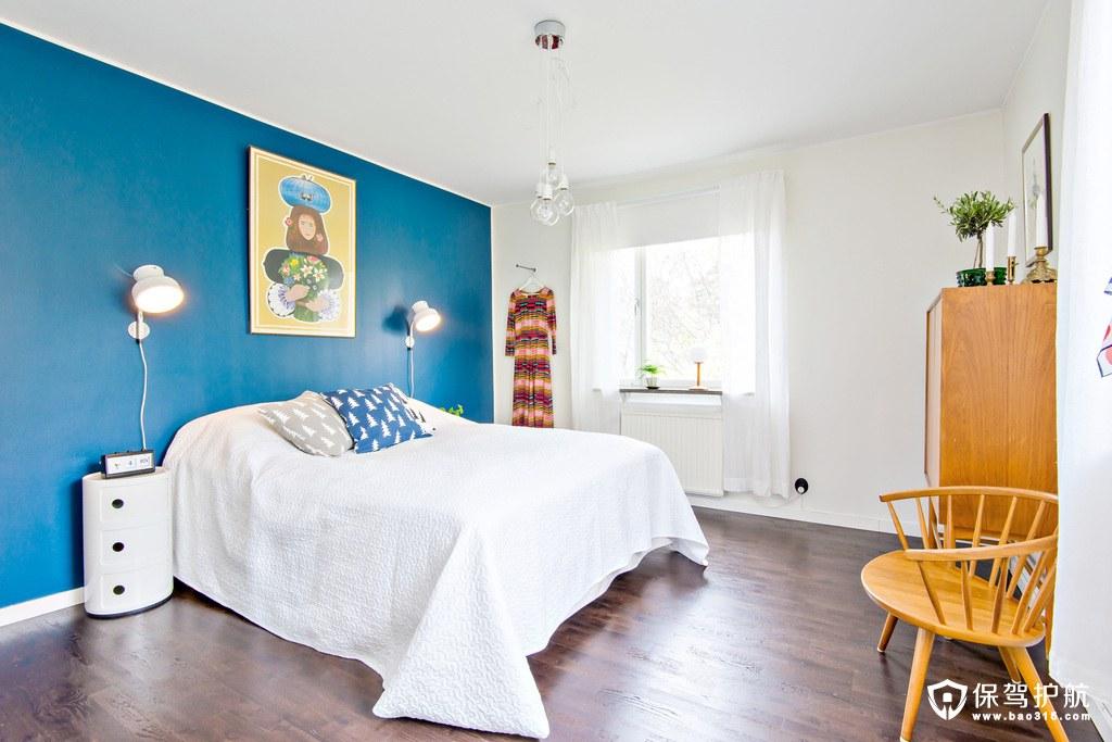 简单舒适北欧风格卧室