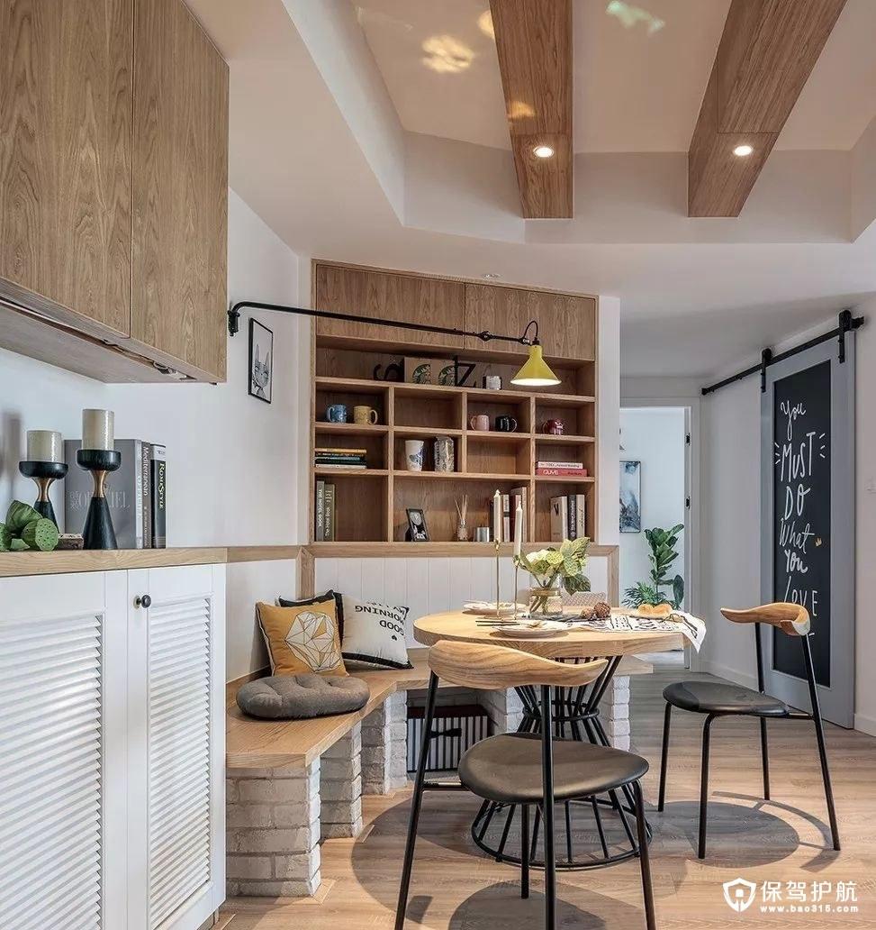 独具创意的北欧风餐厅设计
