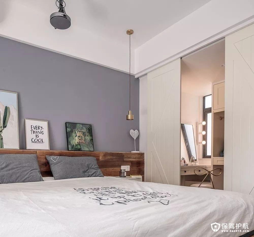 北欧风格卧室更衣室