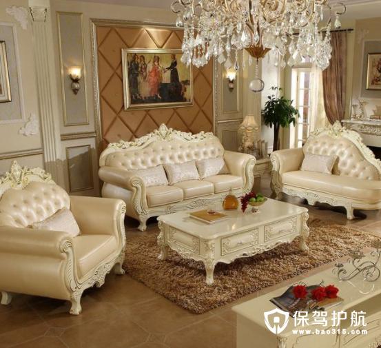 欧美风格沙发效果图