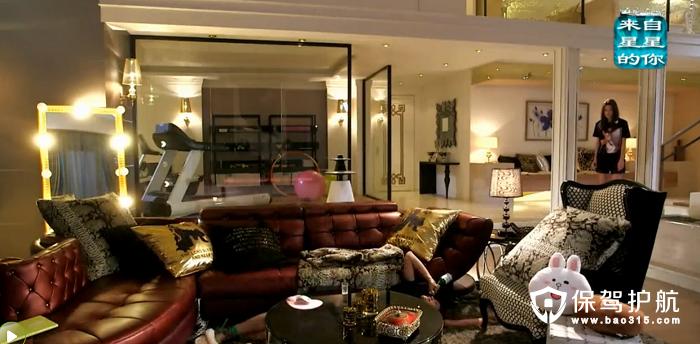 《来自星星的你》女主千颂伊超豪华卧室内景