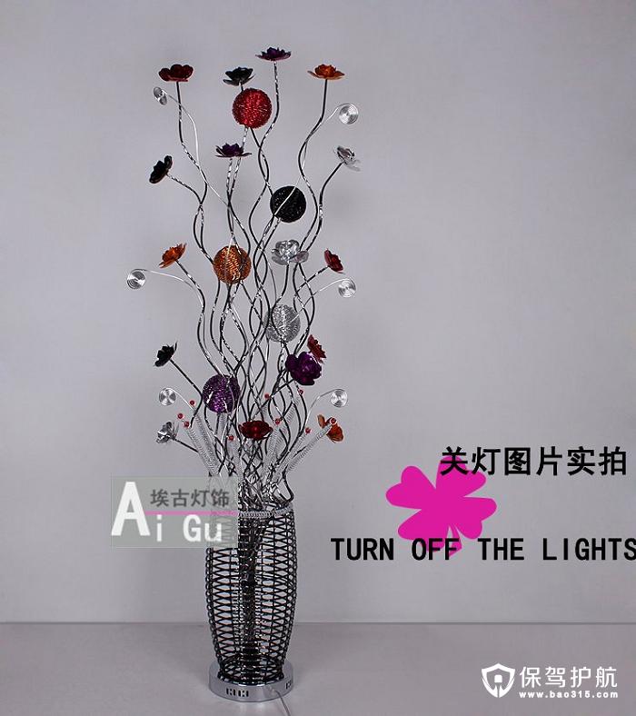 女生会爱上的超美时尚落地灯,就算不开灯也很美!