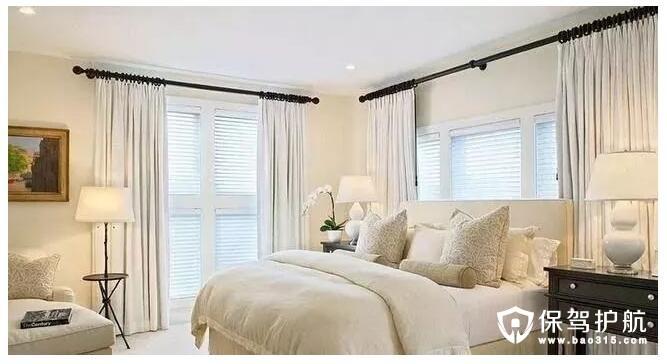 卧室窗帘搭配