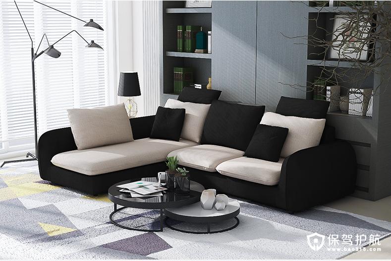 自然北欧风格沙发与茶几的搭配和推荐