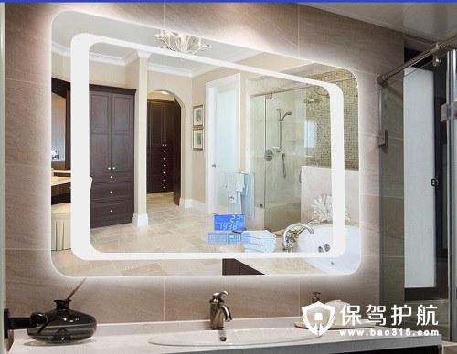三款简约现代浴室镜效果图和推荐
