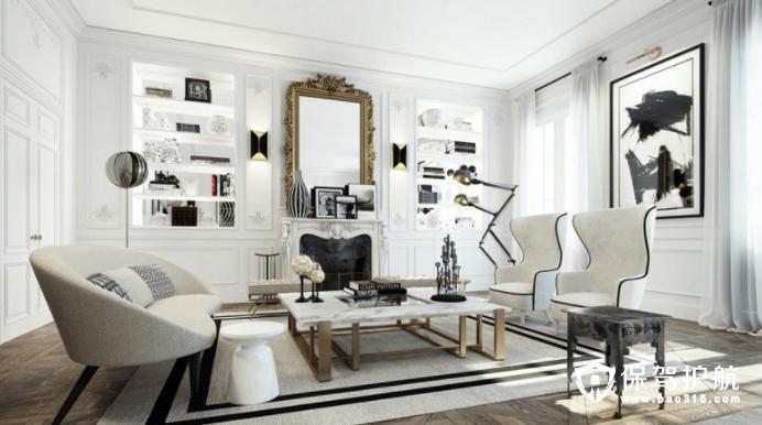 巴黎上流社会高级公寓软装修