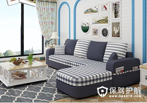 小户型韩式田园沙发效果图