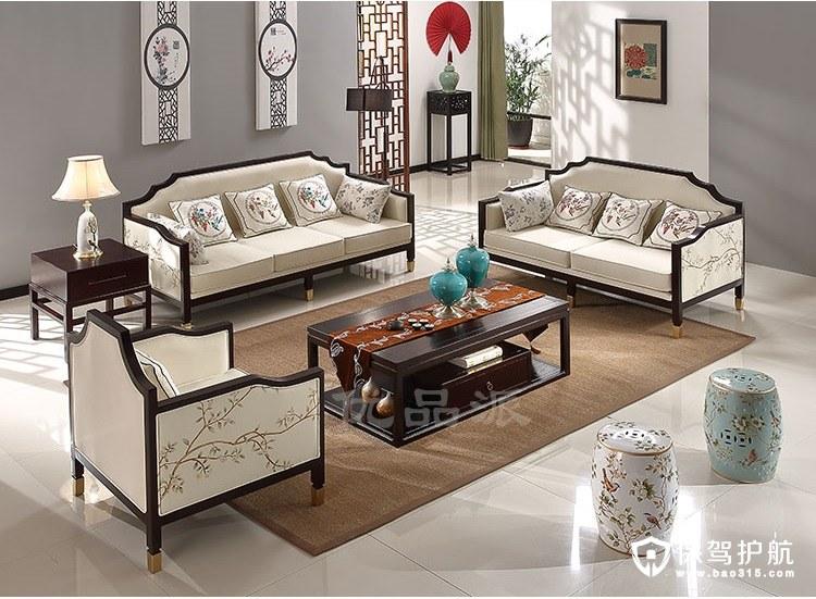 高性价比新中式风格沙发