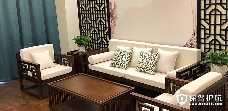 新中式风格沙发效果图