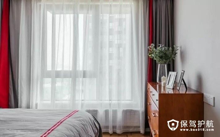 温暖质感北欧风格卧室