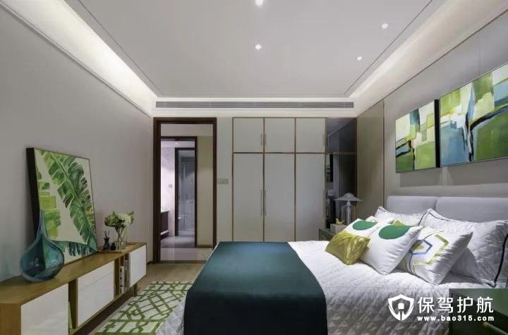 北欧风格清新舒适卧室