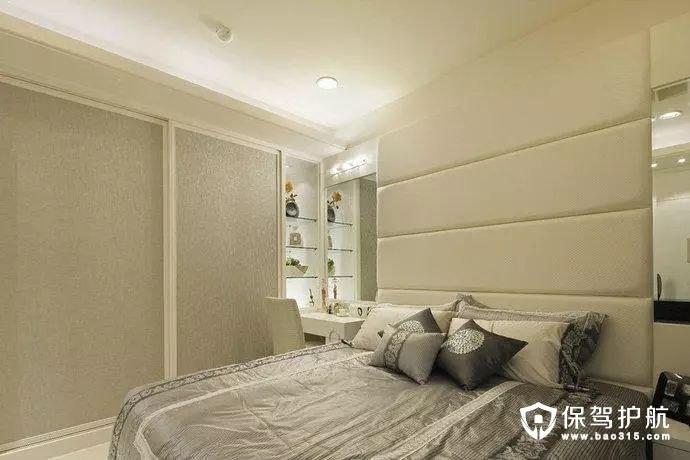 简约风格卧室衣橱梳妆台