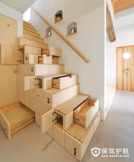 创意储物楼梯设计