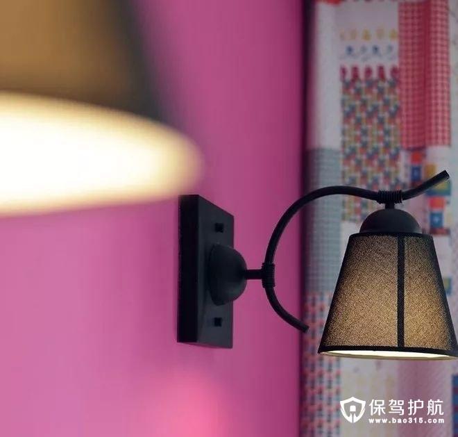 文艺大方美式风格卧室床头壁灯