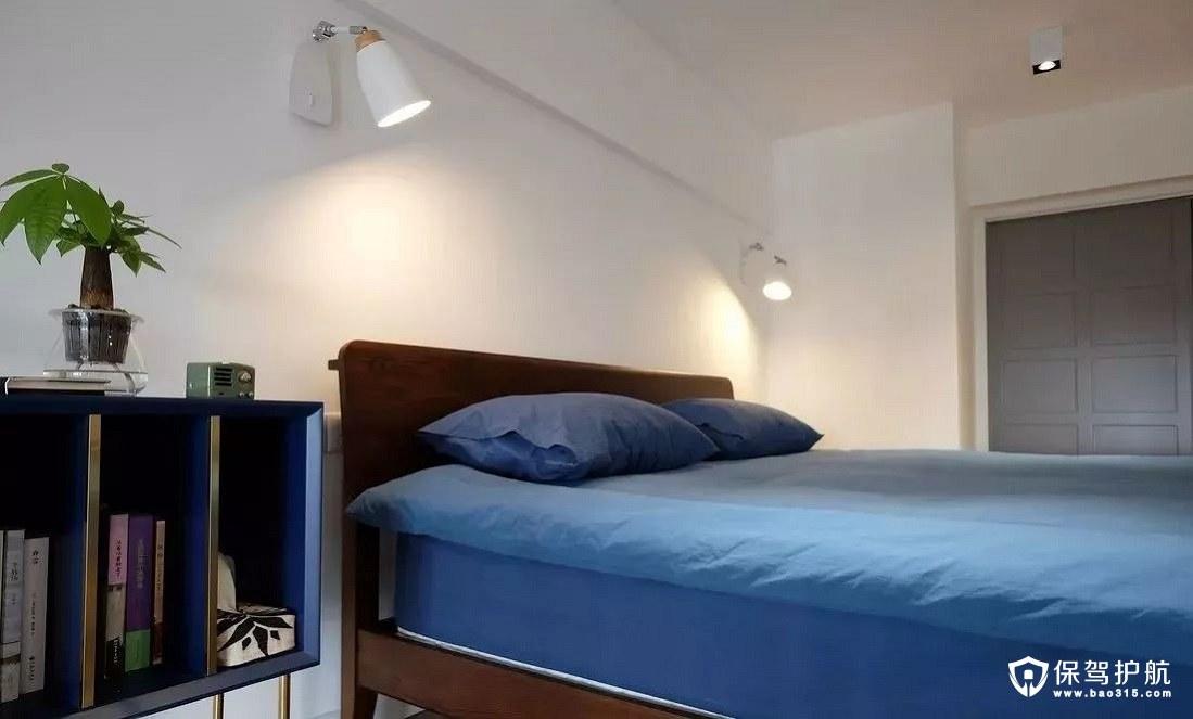 北欧风格卧室主光源射灯、壁灯