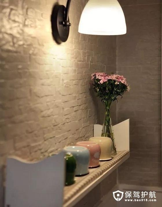 浪漫惬意美式风格文化砖墙面