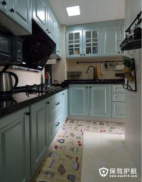 情趣大方文艺精致美式风格厨房橱柜