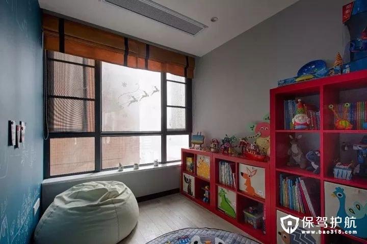 loft风格儿童房收纳架