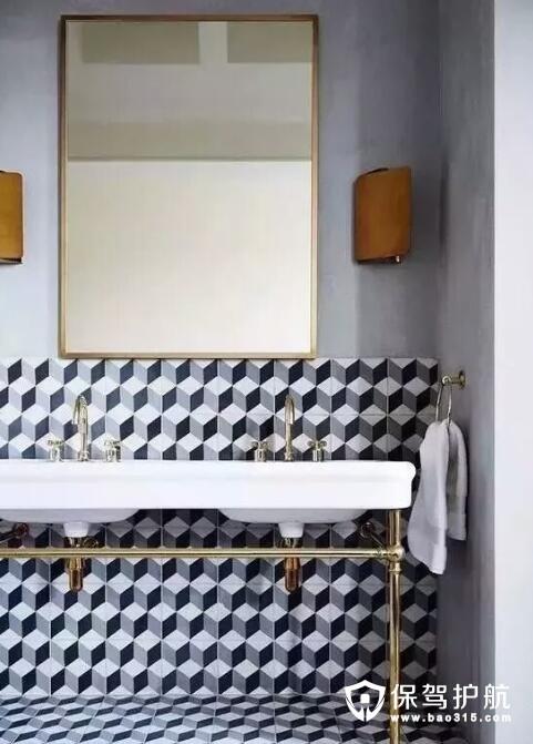 卫生间瓷砖铺贴技巧