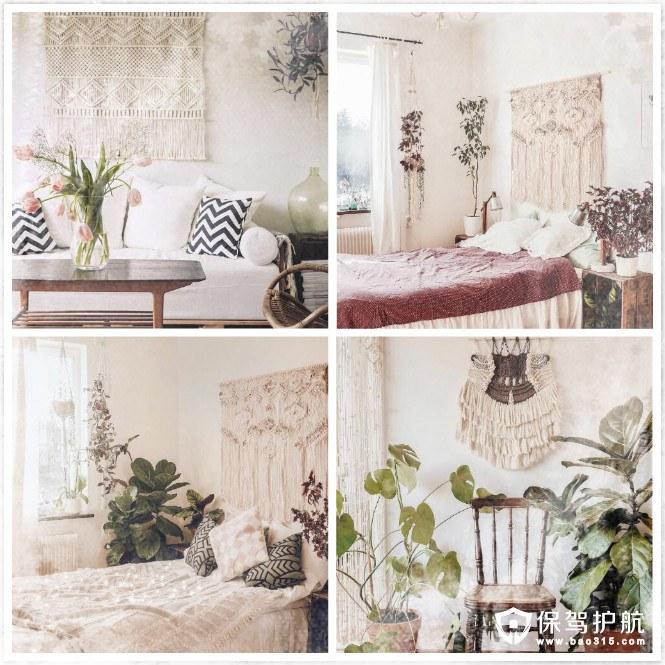 是什么样的绿植软装让原本温柔的房间变得更加撩人?