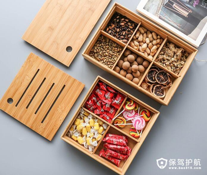 实木干果盒