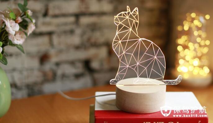 猫狗造型夜灯