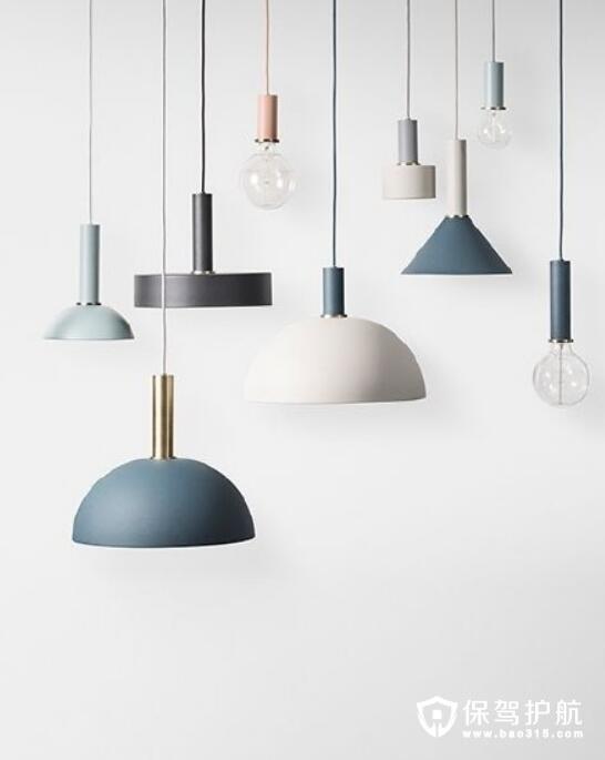 极具设计感灯具集合