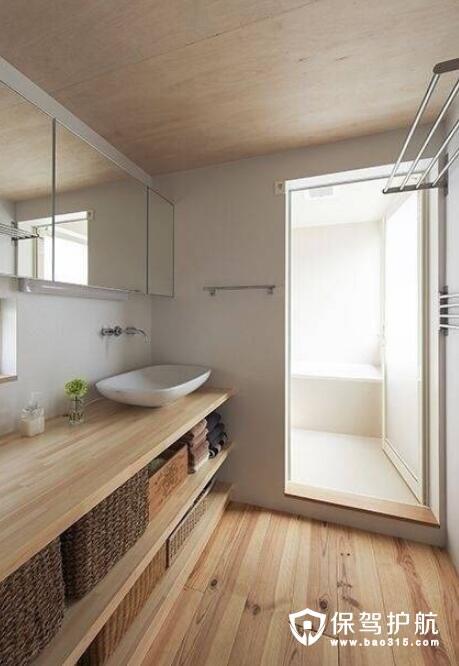 卫浴格局设计