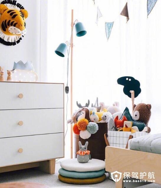 北欧风儿童房设计 打开想象力的空间